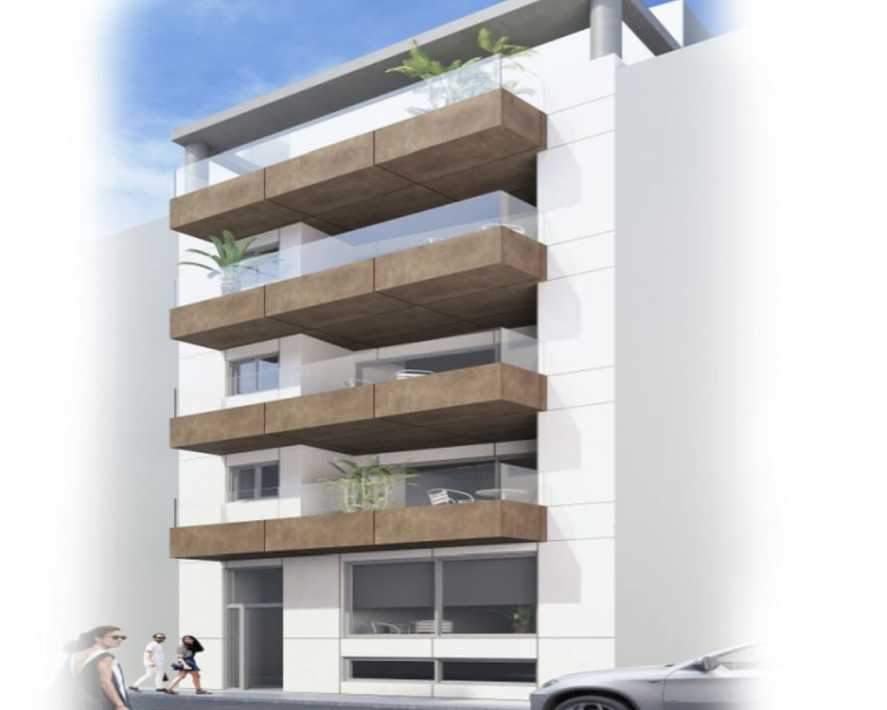 New Build - Ground floor apartment - La Mata