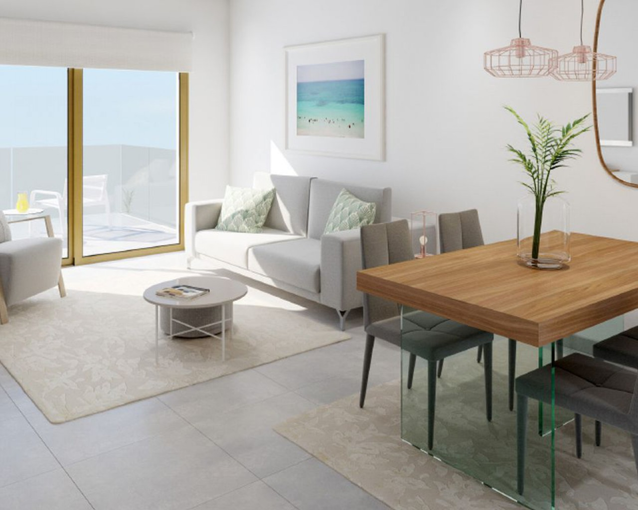 New Build - Ground floor apartment - Los Dolses
