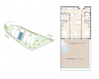 New Build - Ground floor apartment - Altea